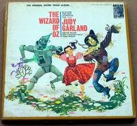 The Wizard of OZ Reel-to-Reel Tape 4-Track Stereo 3-3/4ips.