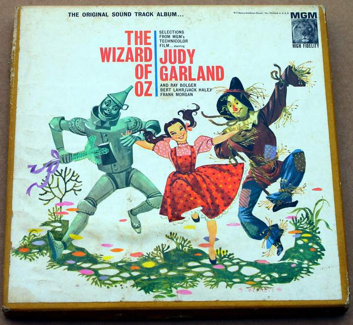 The Wizard of OZ Reel-to-Reel Tape 4-Track Stereo